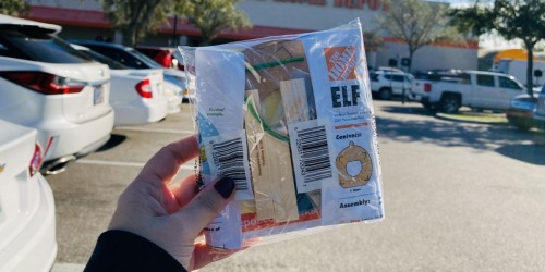 Possible Free Home Depot Kids Elf Ornament & Santa's Treats Tray Kits In-Store | Also Available to Purchase Online