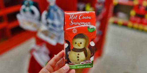 This Fun Hot Cocoa Snowman is Just $1.99 at Walgreens | Enjoy a Special Treat w/ the Kiddos