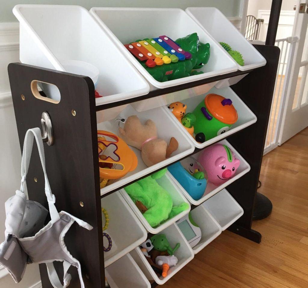 toy organizer with bins