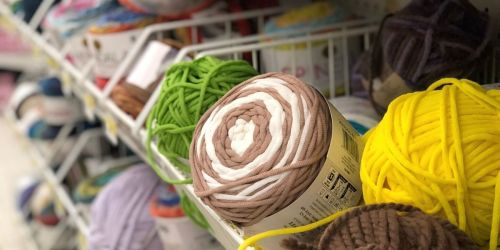 Huge Yarn Sale at JoAnn Fabric & Craft Stores – Prices Starting at Just $1.59 (Online & In-Store)