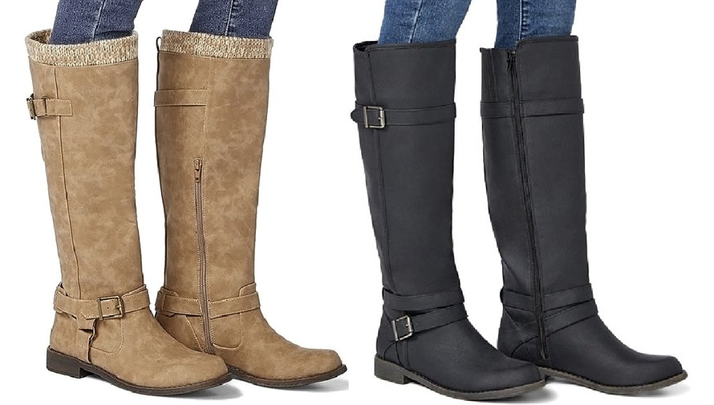 just fab boots on women
