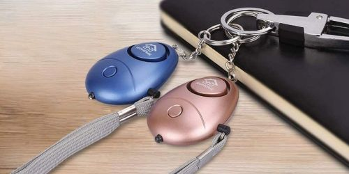 Alarm Keychain w/ LED Light Only $17.99 Shipped on Amazon | Can be Heard from 600′!