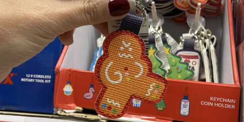 Never Forget Your ALDI Quarter with These Coin Keychains | Christmas, Cupcakes, Llamas & More