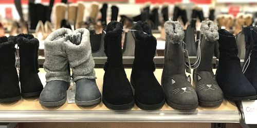 50% Off Boots for the Family on Target.com   Cat & Jack Styles from $9.99 (Regularly $20+)