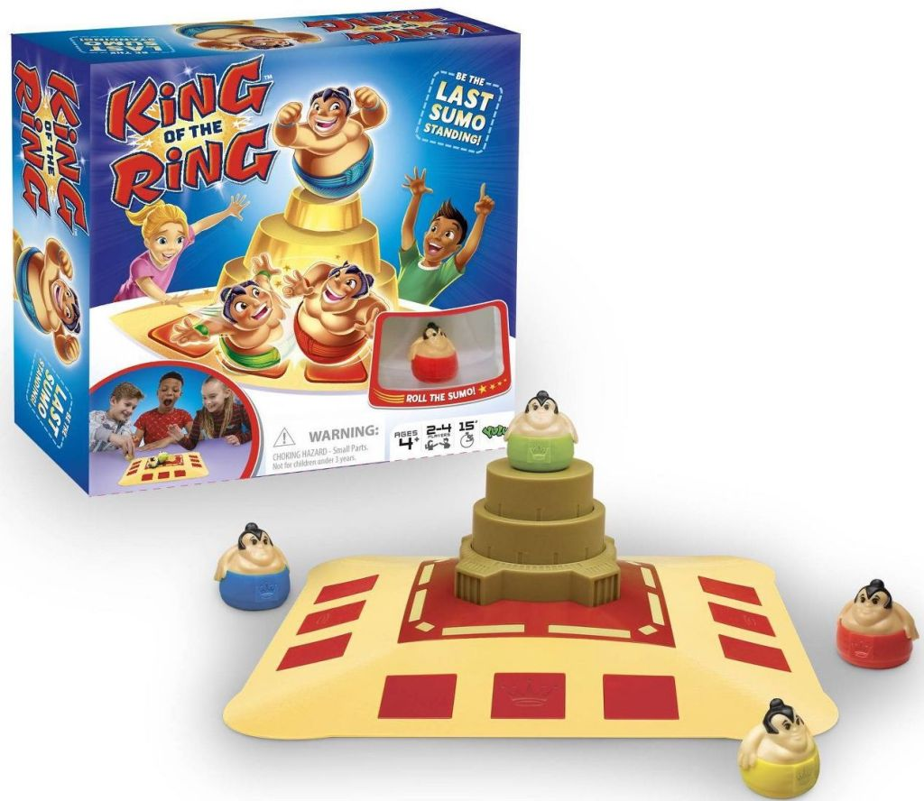 king of the ring game with pieces