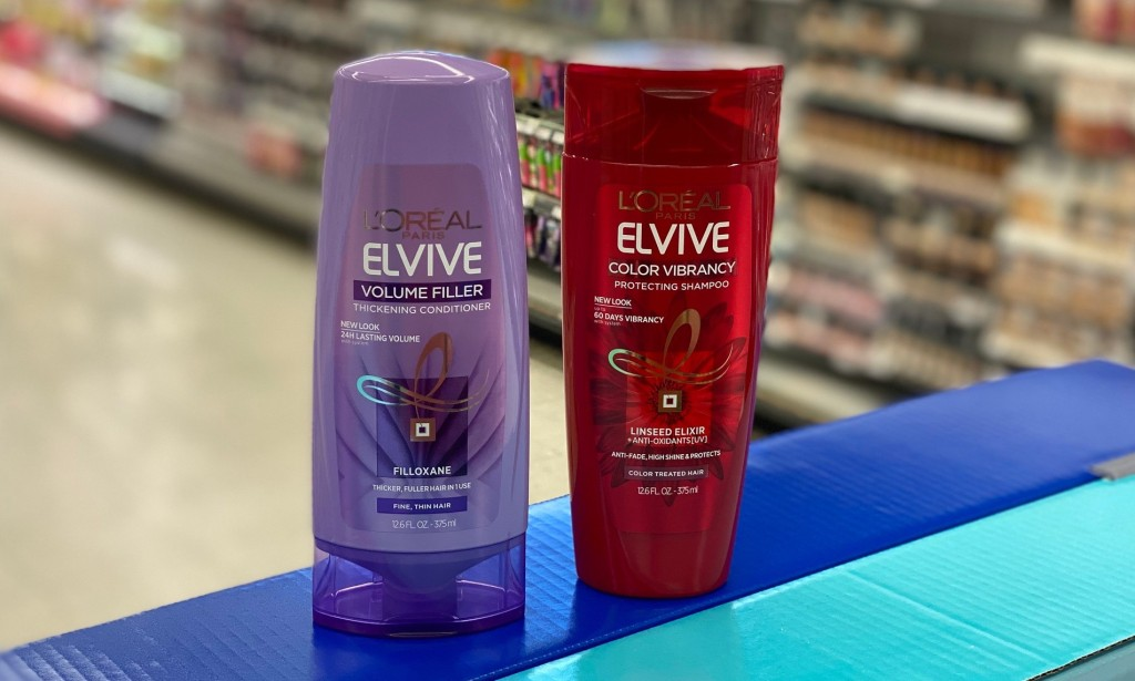 loreal elviv shampoo and conditioner in store
