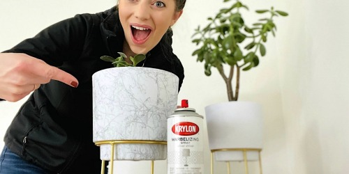 Transform Almost Anything Into Gorgeous Marble With This Spray Paint Hack!