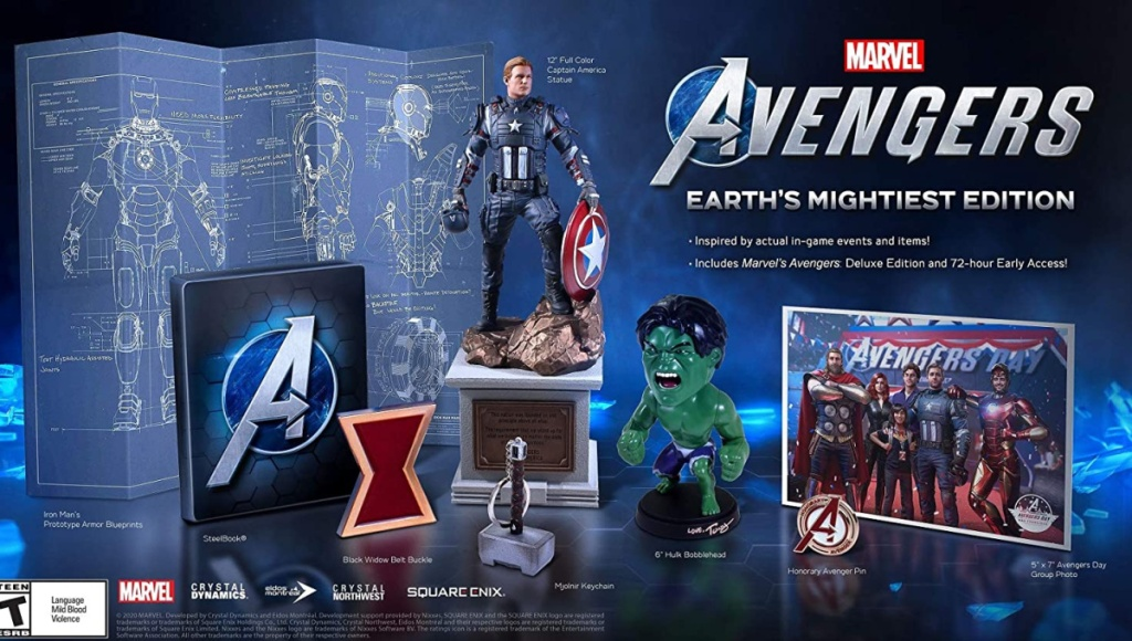 marvel avengers video game bundle