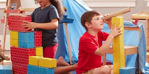 Melissa & Doug Jumbo Cardboard Blocks Only $19.95 on Amazon (Reg. $40) + Up to 55% Off Toys, Puzzles, & More