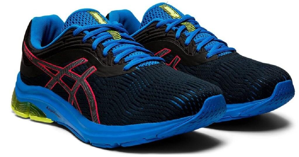 mens asics pulse colorful shoe