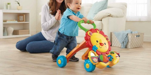 Fisher-Price Musical Lion Walker Only $14 on Amazon (Regularly $34)