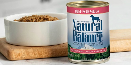 Natural Balance Wet Dog Food 12-Pack Only $11 Shipped on Amazon (Regularly $30)