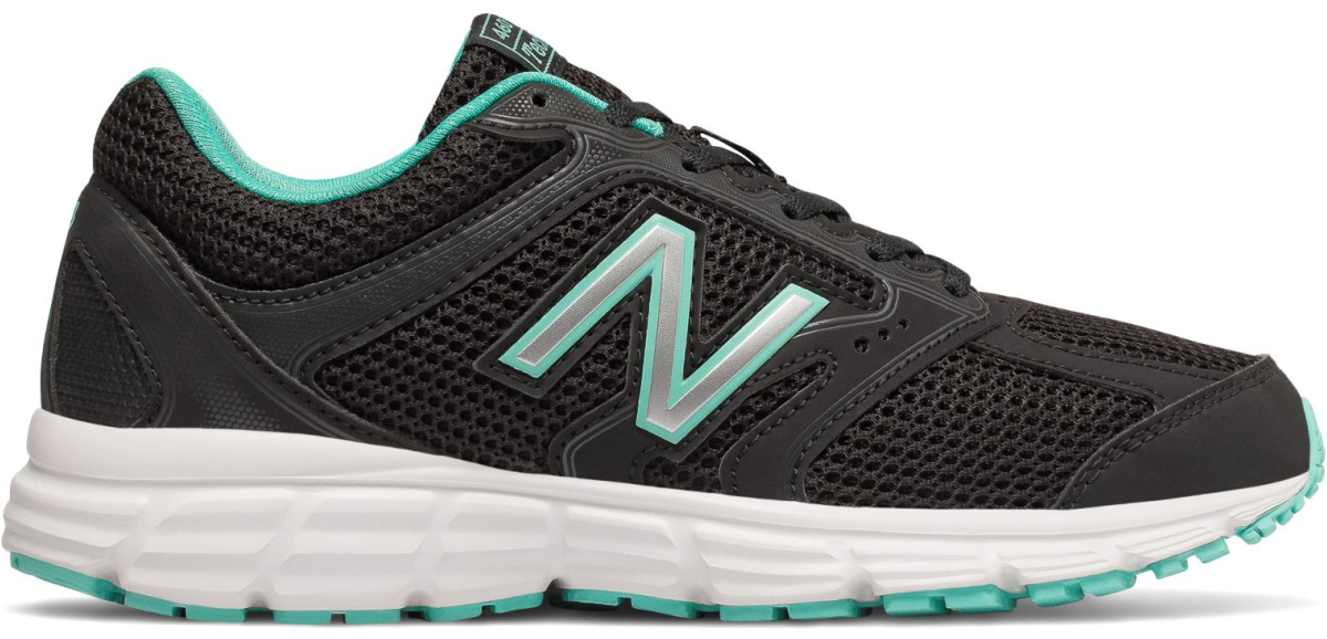 teal black and white new balance shoes