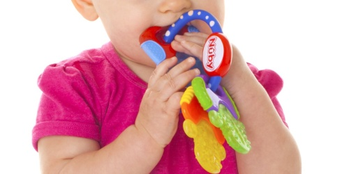 Nuby Ice Gel Teething Keys Only $3.68 on Amazon (Regularly $6) | Arrives by Christmas