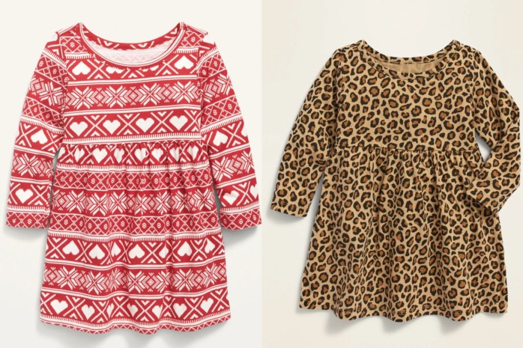 old navy baby dresses red fair aisle and leopard