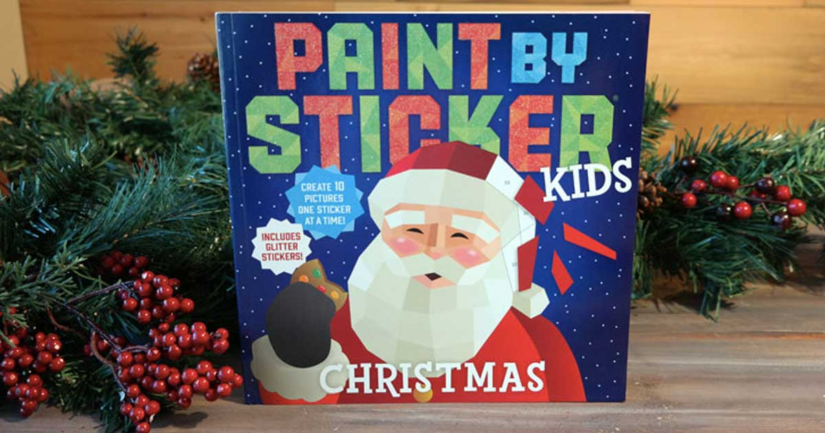 paint by sticker book for kids