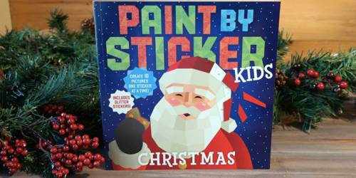 Paint by Sticker Christmas Book Only $7.95 on Amazon (Regularly $10) | Arrives by Christmas