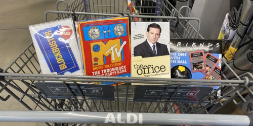 Spin Master Party Games Only $8.99 at ALDI   Blockbuster, MTV, The Office & More