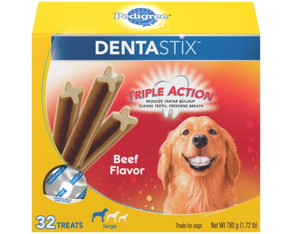 pedigree dentastix box