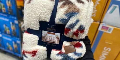Pendleton Sherpa Fleece Blankets from $34.99 Shipped on Costco.com