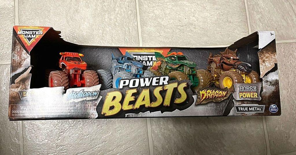 monster jam power beasts pack