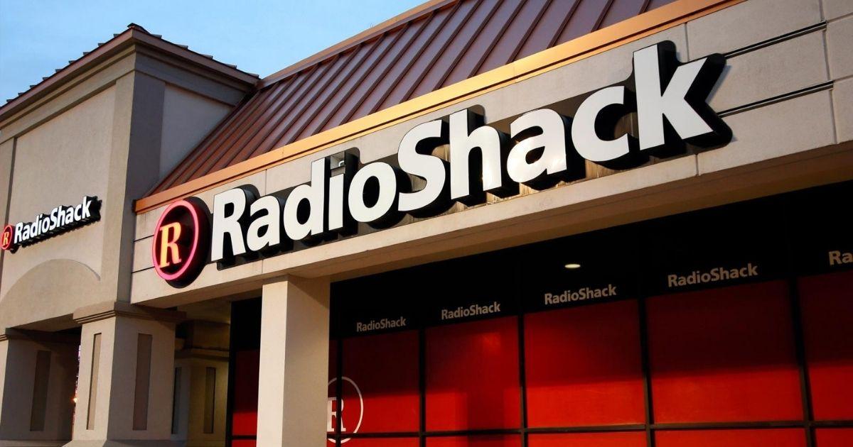 Radio Shack store front