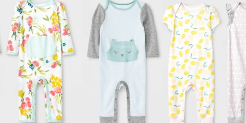 Target Recalls Infant Rompers and Swimsuits Due to Potential Choking Hazard