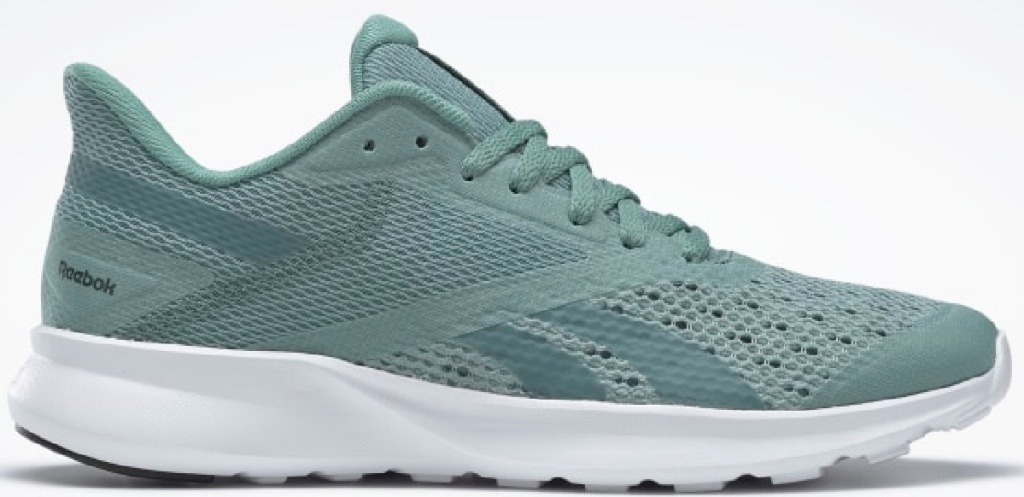 teal reebok shoes with white soles
