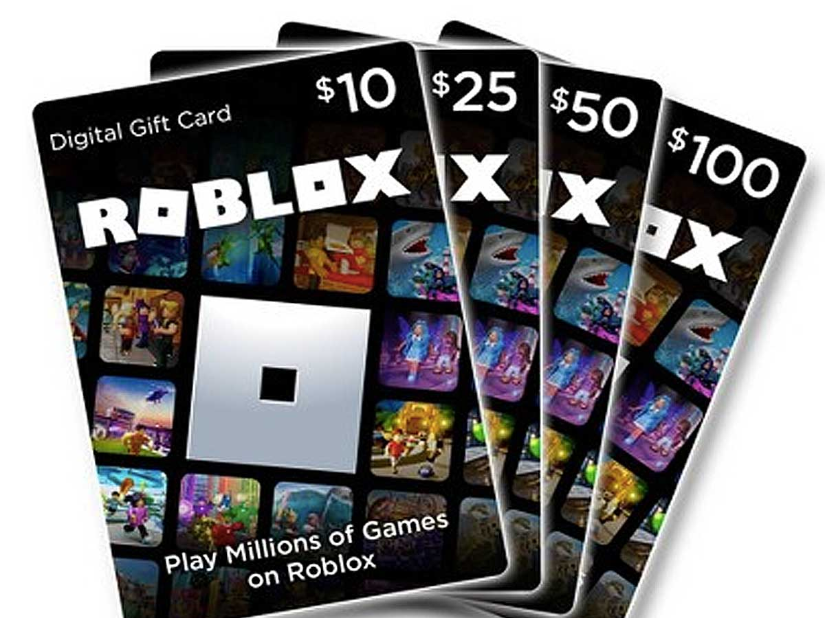 10 Off Roblox Digital Gift Cards On Amazon Prices From 9 Hip2save