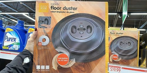 Robotic Floor Duster + 20 Cleaning Pads Only $19.99 at ALDI