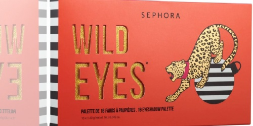 GO! Sephora Collection Wild Eyeshadow Palette $9 Shipped + Score 2 FREE Samples