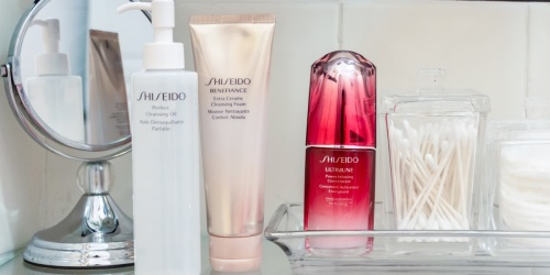 Shiseido 4-Piece Gift Set Only $44.63 Shipped on Macys.com ($139 Value) | Great Gift for Mom