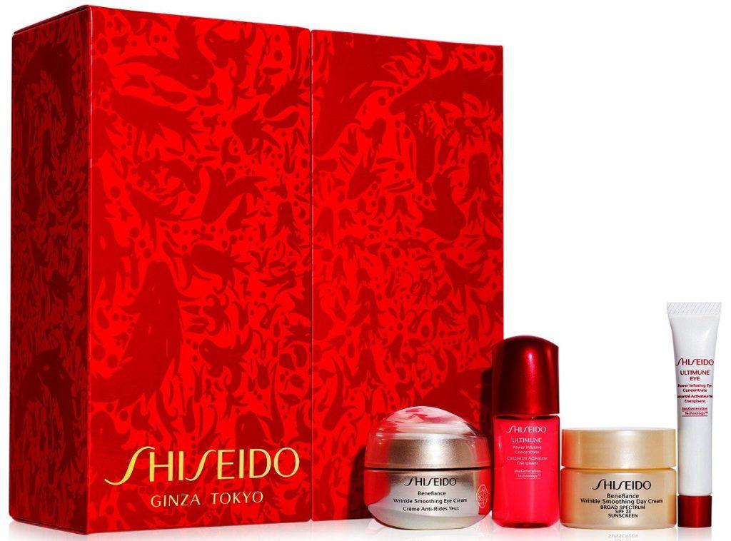 shiseido eye gift set with box