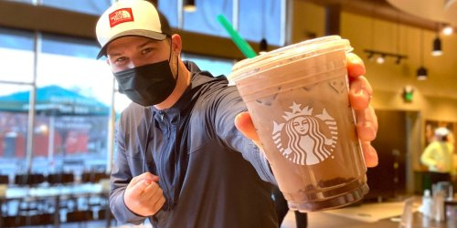 Buy One Starbucks Drink on Marth 4th, Get a Coupon for a FREE Drink Next Week!
