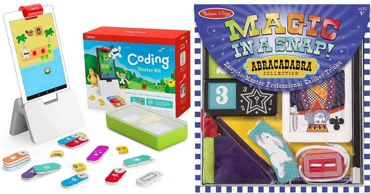 osmo coding kit and magic tricks set