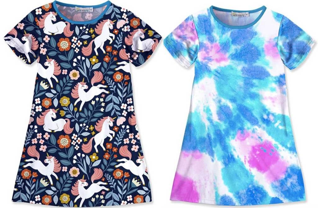 two little girls dresses