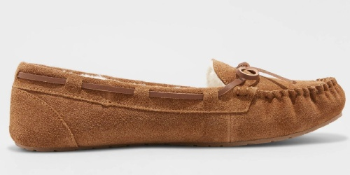 Women's Moccasins Only $13.99 on Target.com (Regularly $20)   4 Color Choices