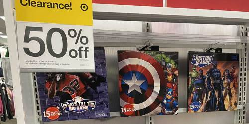 15 Days of Socks Advent Calendars Just $7.50 Each at Target (Regularly $15)