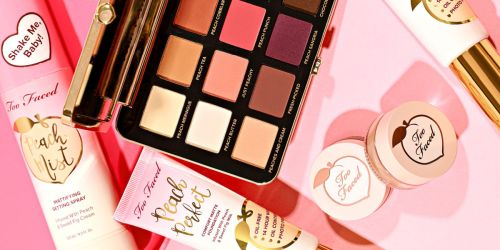 50% Off Too Faced Peach Products + FREE Shipping & 2 Samples
