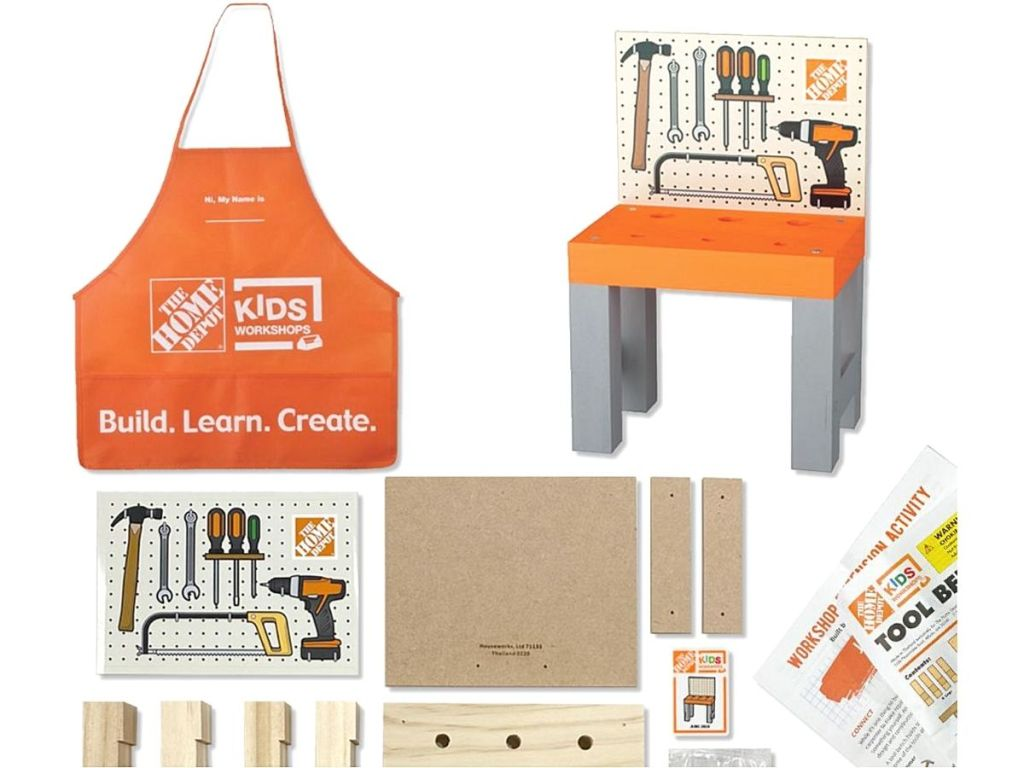 tool bench kit and accessories