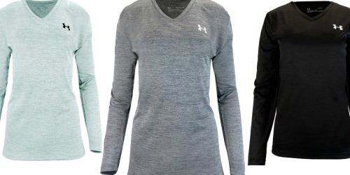 Under Armour Men's & Women's Long Sleeve Tees Just $12.99 Shipped (Regularly $50)