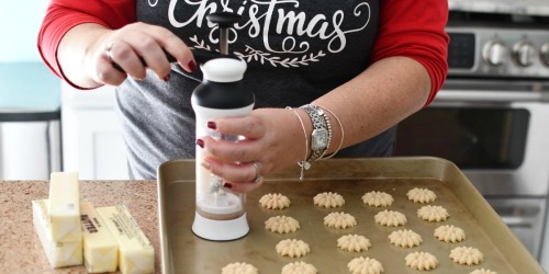 This Cookie Press Makes Baking Cookies Easy & Delish!