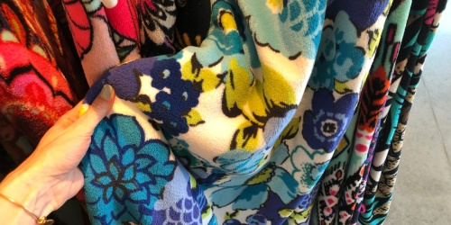 Vera Bradley Throw Blankets Just $15 (Regularly $59)   Up to 80% Off Backpacks, Lunch Bags & More