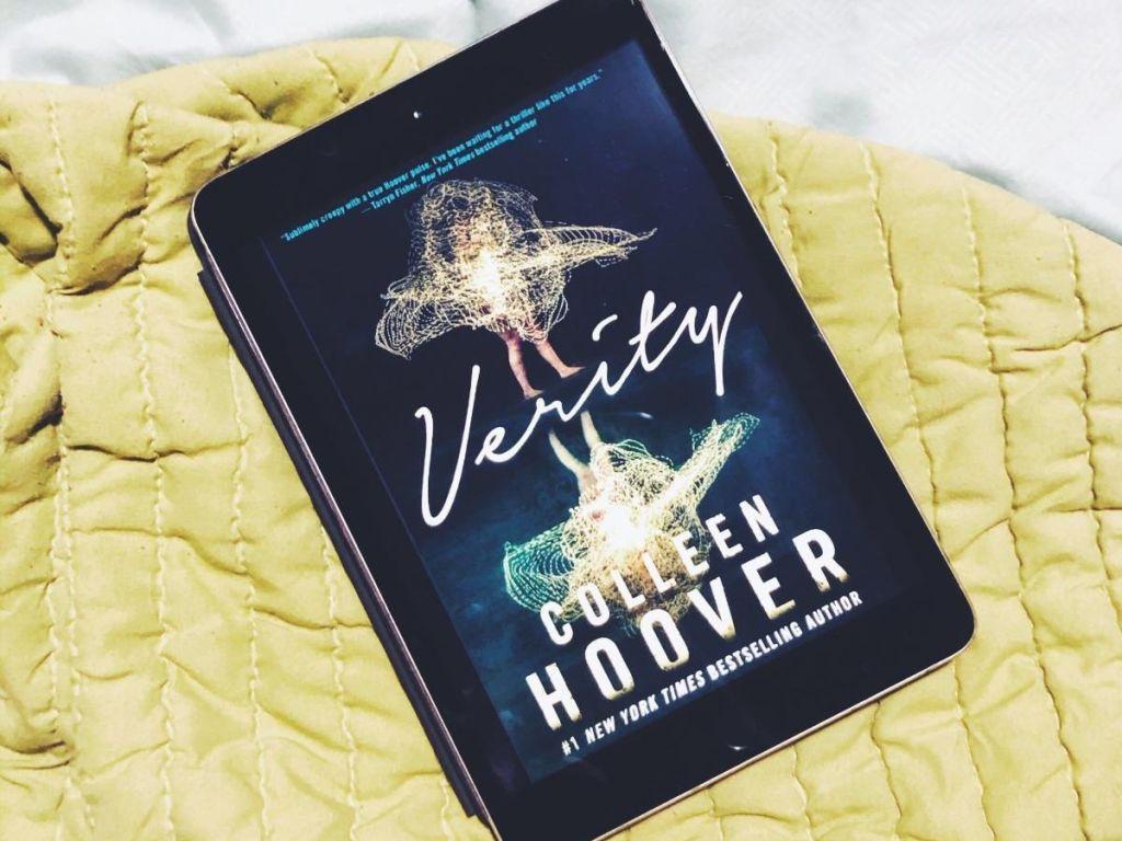 couverture du livre Verity sur Kindle