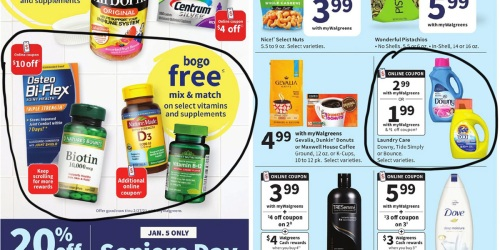 Walgreens Ad Scan for the Week of 1/3/21 – 1/9/21 (We've Circled Our Faves!)