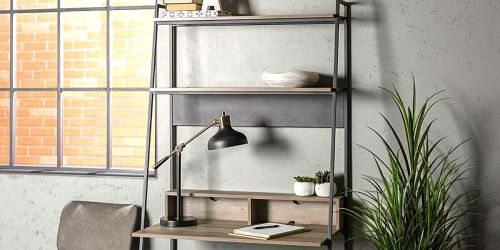$97 Off Industrial Style Desk + Free Shipping on HomeDepot.com
