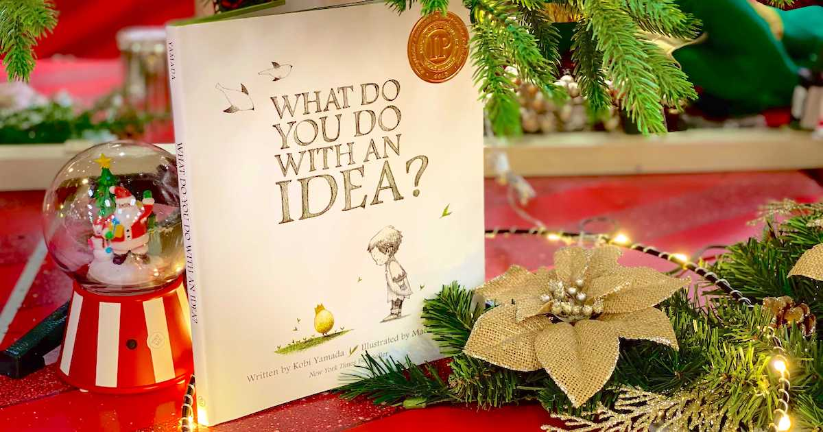 what do you do with an idea book under christmas tree kids books gifts
