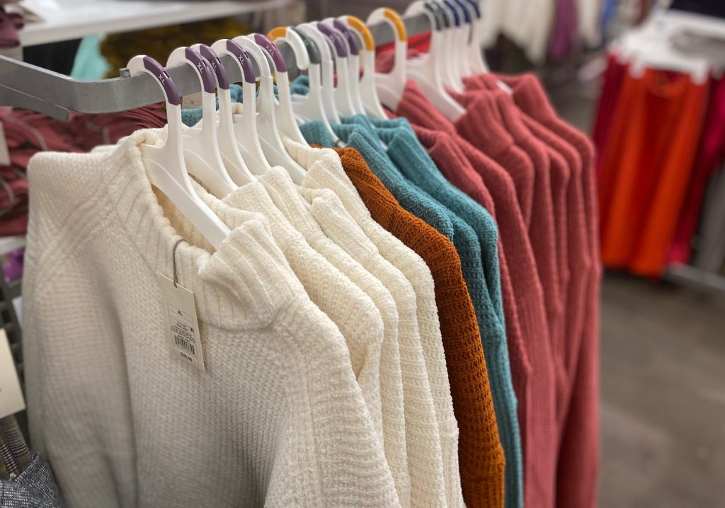 wild fable sweaters in store at target