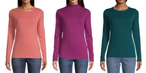 Women's Tees as Low as $5.99 on JCPenney.com (Regularly $17+)
