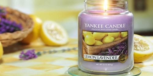 Yankee Large Jar Candles from $14.74 on Amazon (Regularly $28)